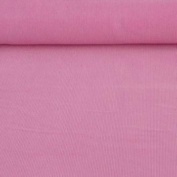 Bekleidungsstoff Cord einfarbig rosa – Bild 1