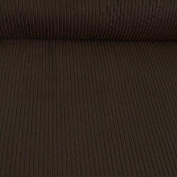 Bekleidungsstoff Cord 4,5W grob einfarbig dunkelbraun