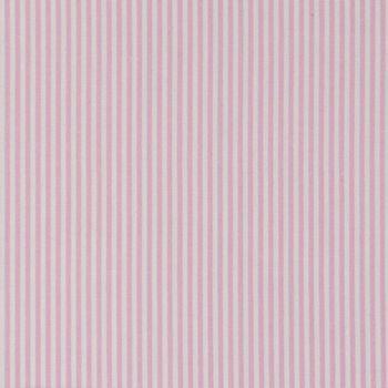 Baumwollstoff Streifen rosa weiß 1,4m Breite