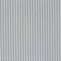 Baumwollstoff Streifen grau weiß 1,4m Breite