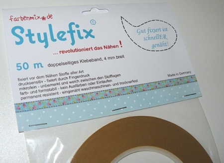 Stylefix Band doppelseitiges Klebeband 50m 4mm Breite