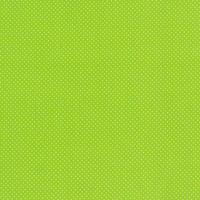 Baumwollstoff Punkte klein Ø 2mm lime weiß