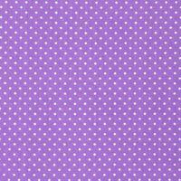 Baumwollstoff Punkte klein Ø 2mm lila weiß 001