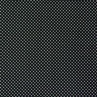 Baumwollstoff Punkte klein Ø 2mm schwarz weiß 001