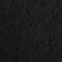 Bekleidungsstoff Walkloden Wolle Meterware schwarz  001