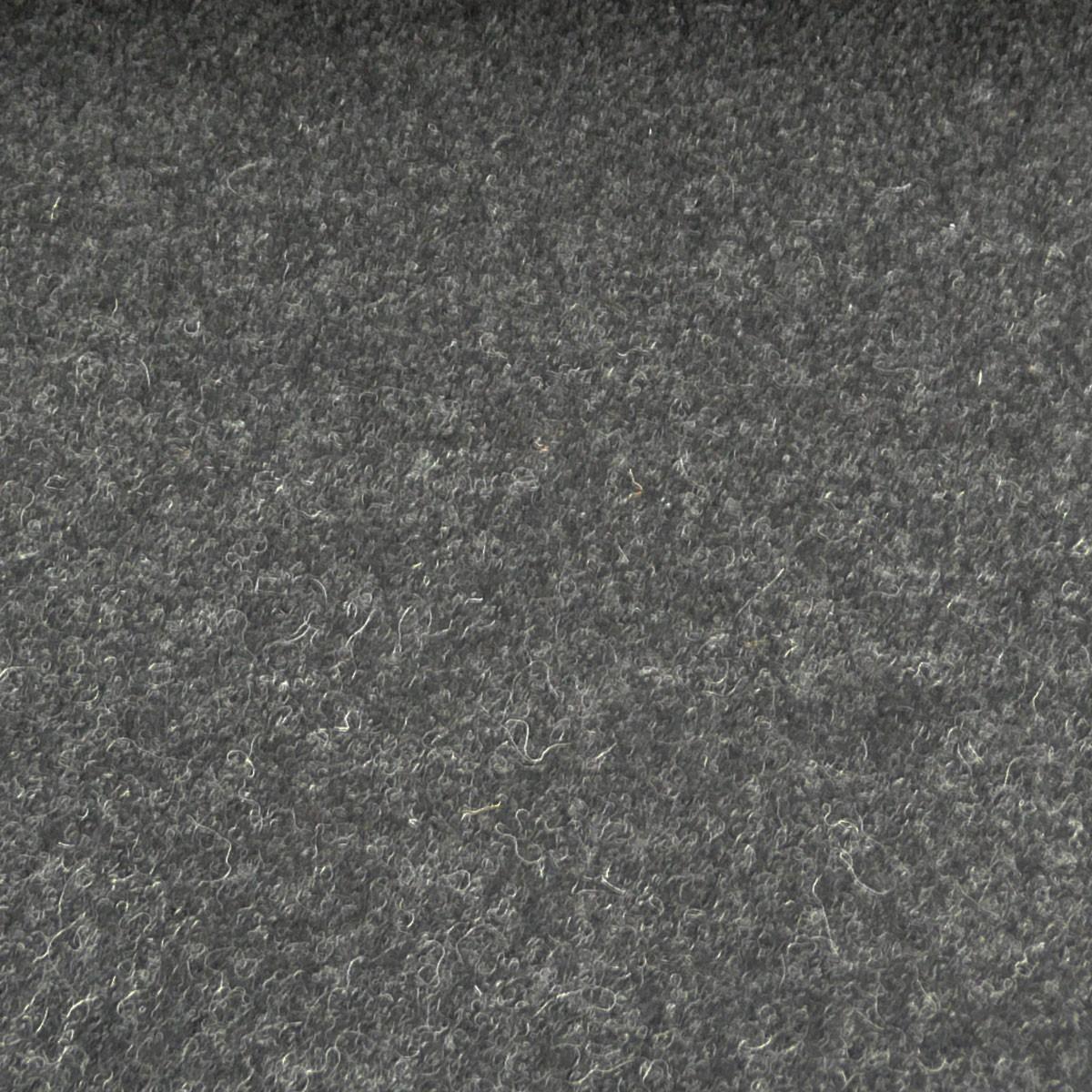 Mantelstoff Bekleidungsstoff Walkloden Wolle Meterware anthrazit meliert