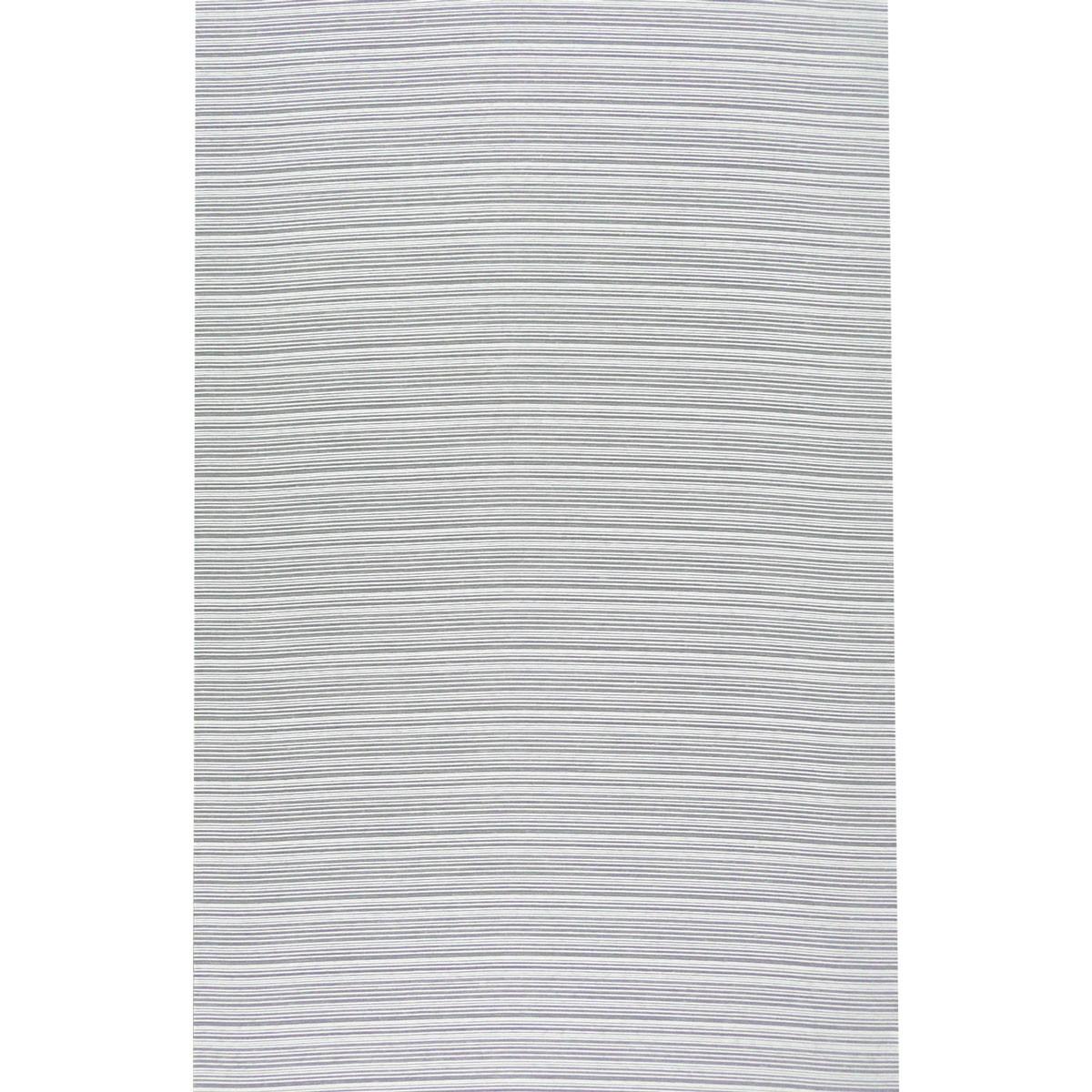 Gardinenstoff Paneele Meterware Querstreifen weiß 60cm Breite