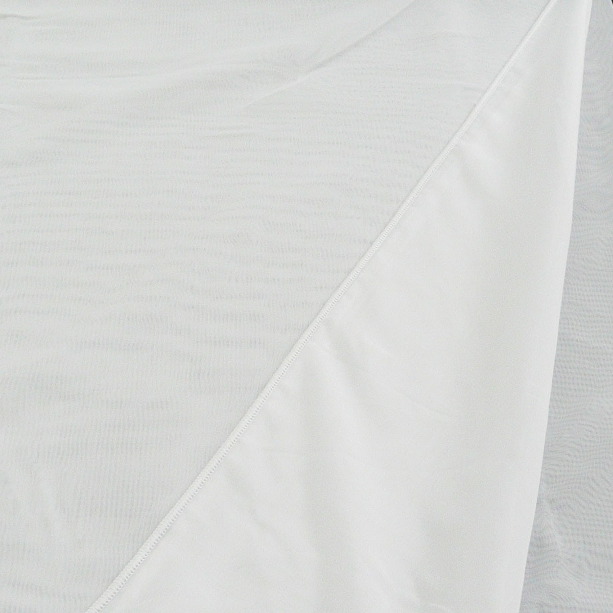Gardinenstoff Stores Voile uni weiß transparent 2,6m Höhe