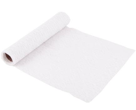 Deco Band Spitzenband weiß 30cmx3m