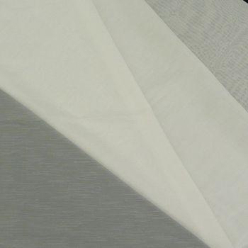 Gardinenstoff Meterware creme Streifen mit dünnen Streifen 1,8m Höhe