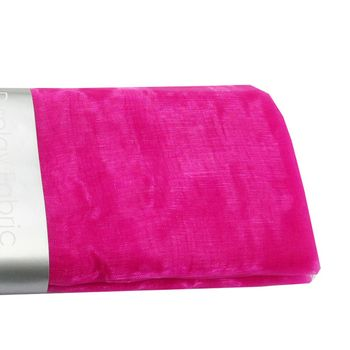 Deco Organza Dekostoff pink 150x300cm
