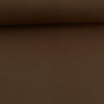 Kreativstoff Bastelfilz einfarbig dunkelbraun 45cm Breite 4mm Stärke