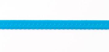 Gummiband Elastic Abschlussspitze Zierband aqua Breite: 1,2cm