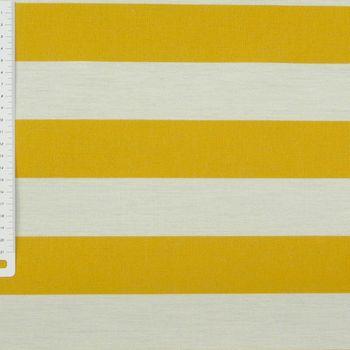 Outdoor Markisenstoff Gartenmöbelstoff Toldo Streifen gelb weiß – Bild 2