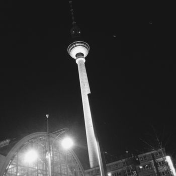 Fernsehturm - Iphoneography