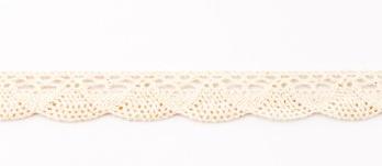 Spitze Zierband beige Breite: 2,5cm