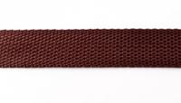 Gurtband schoko braun Breite: 2,5cm 001