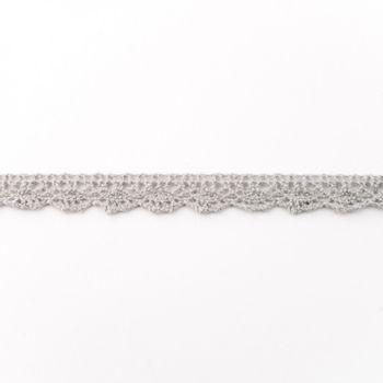 Spitze Zierband hellgrau Breite: 1,5cm