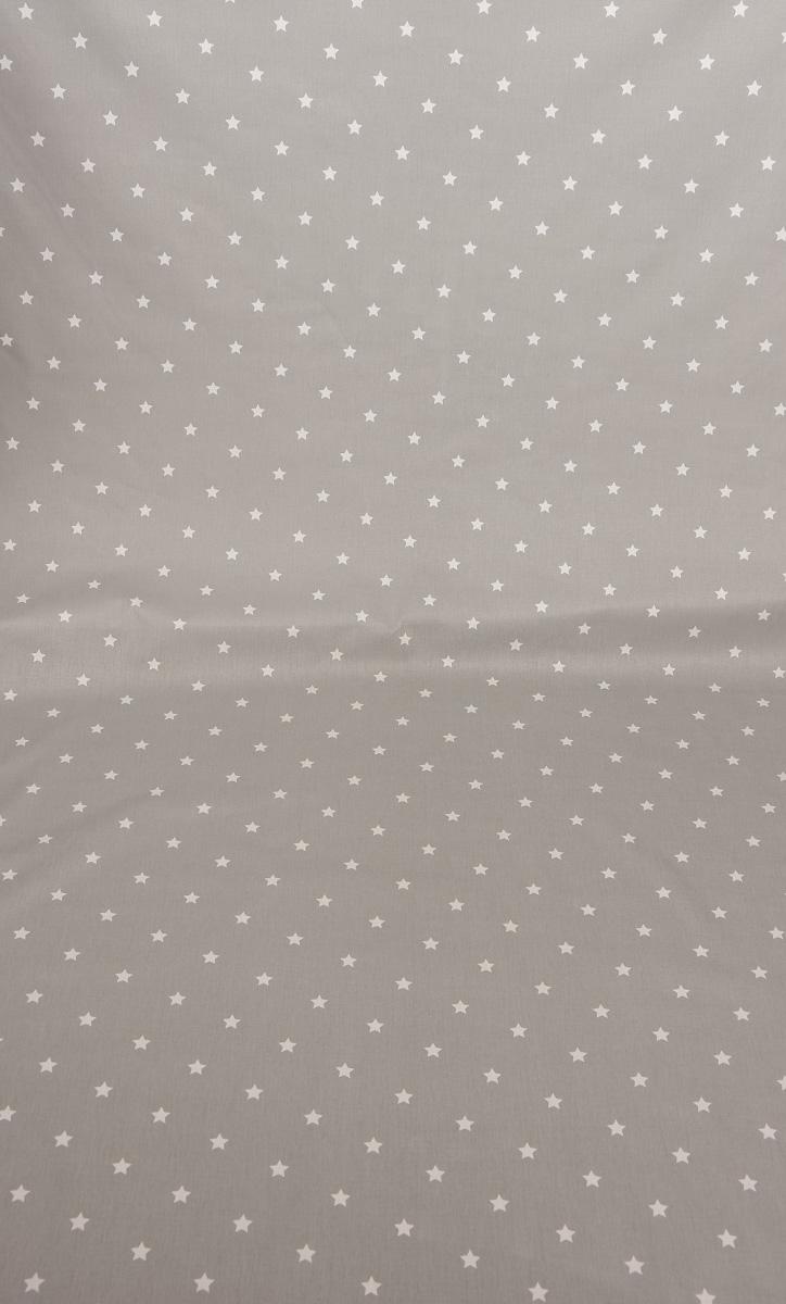 baumwollstoff twinkle sterne grau wei stoff gardinenstoff dekostoff stoffe wohnstoffe dekostoffe. Black Bedroom Furniture Sets. Home Design Ideas