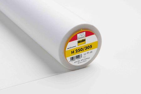 Vlieseline Bügelvlies H250 weiß 90cm Breite – Bild 1