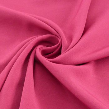 Royal Micro Satin Stoff Meterware cerise