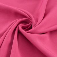 Royal Micro Satin Stoff Meterware cerise  001