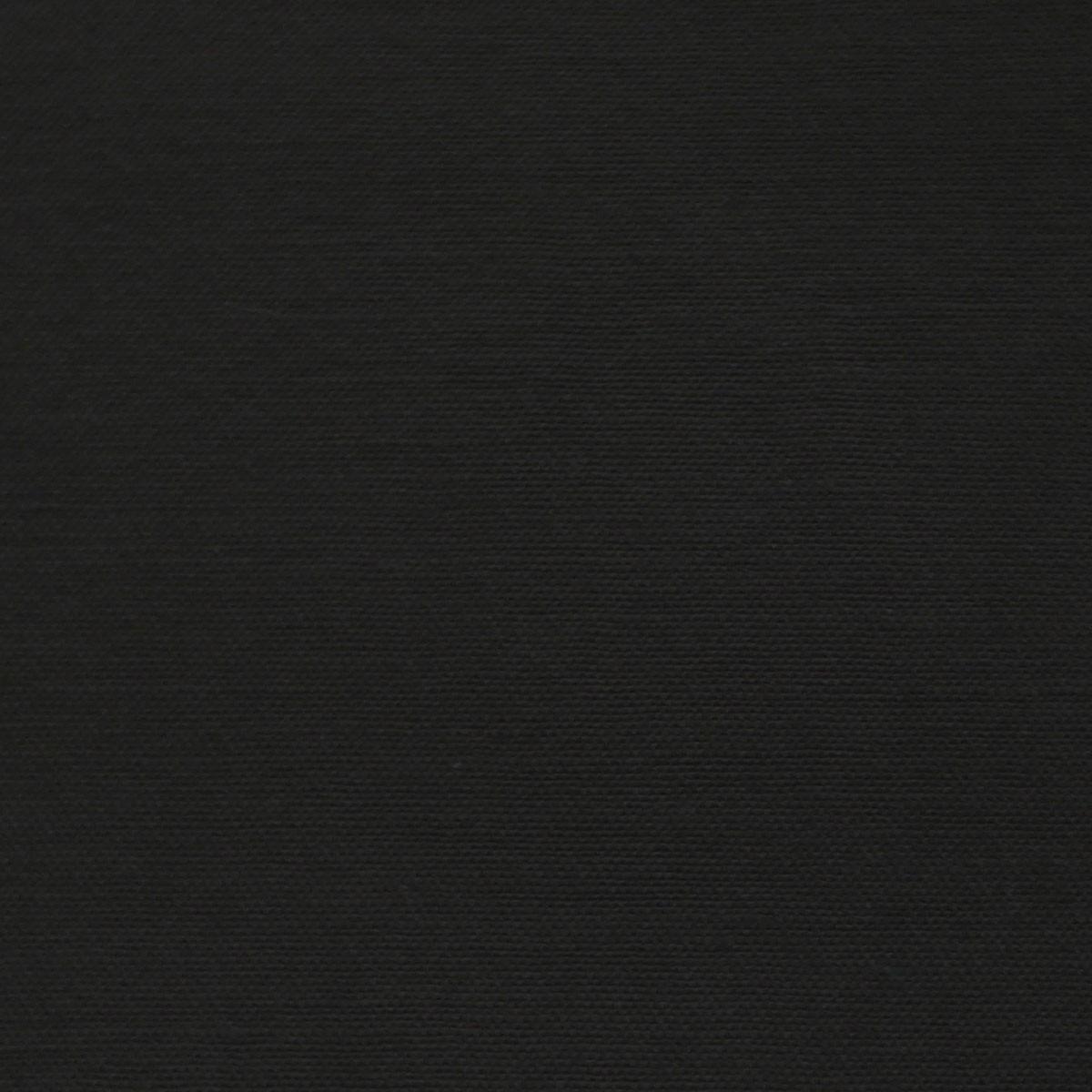 Baumwolle Stoff Satin Spandex schwarz
