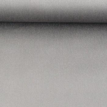 Baumwolle Stoff Meterware Baumwolle Satin Spandex dark grey 1,45m Breite