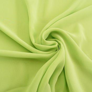 Chiffon Meterware moosgrün