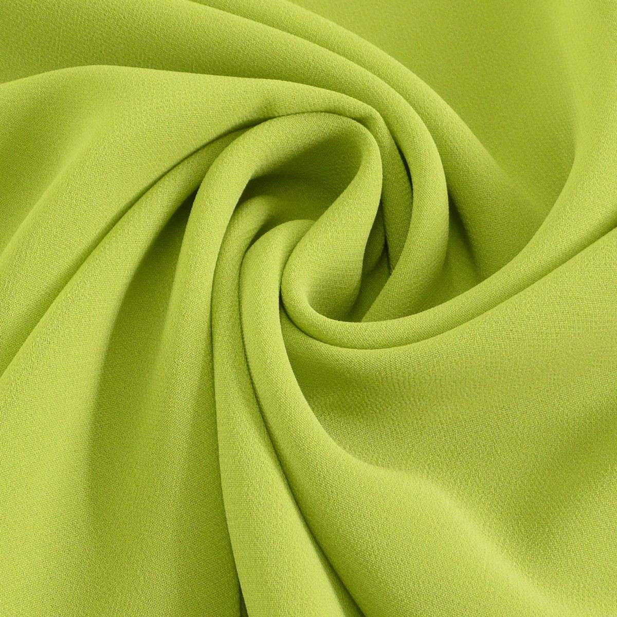 Chiffon Meterware lime Alle Stoffe Stoffe uni Polyester 6ef57003dc