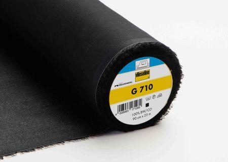 Vlieseline Nessel Einlage G710 schwarz 90cm Breite