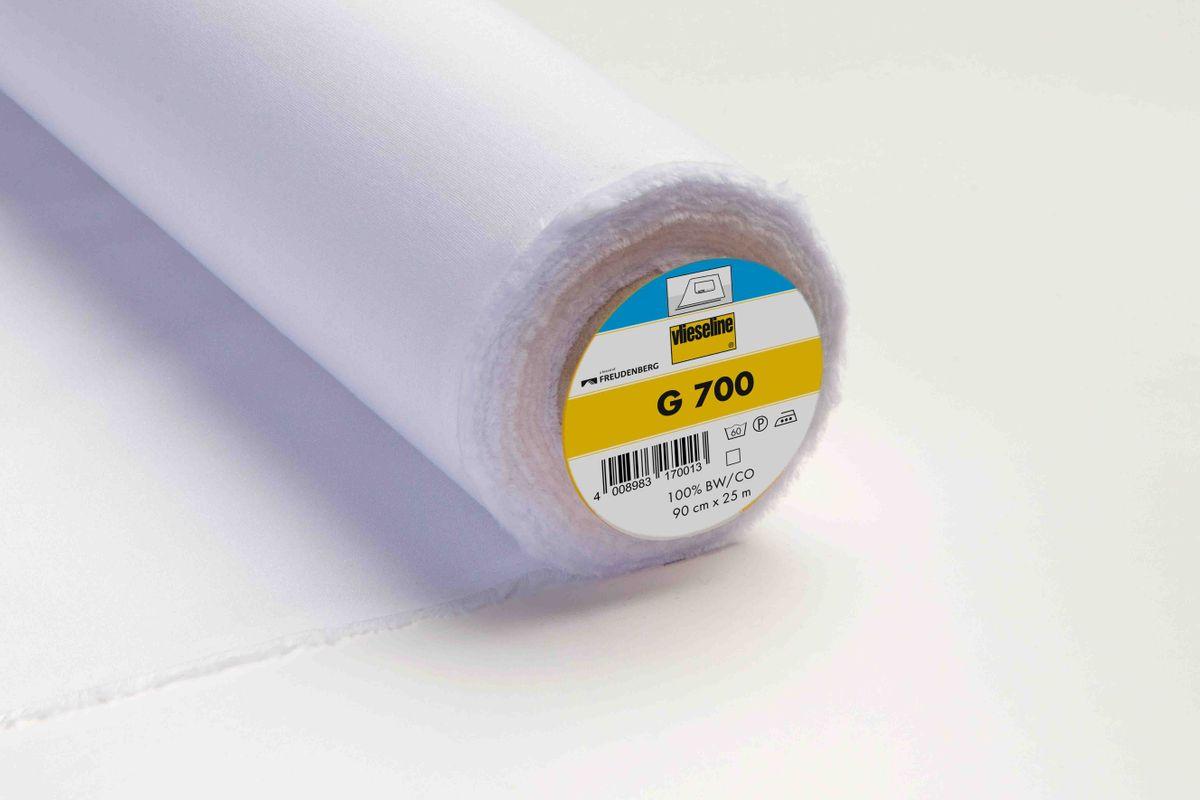 Vlieseline Nessel Einlage G700 weiß 90cm Breite