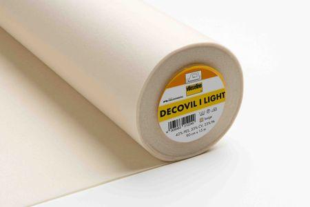 Vlieseline Decovil light beige 90cm Breite – Bild 1