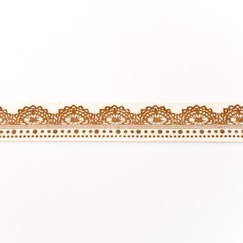 Baumwollband Ornament Meterware Breite: 2cm