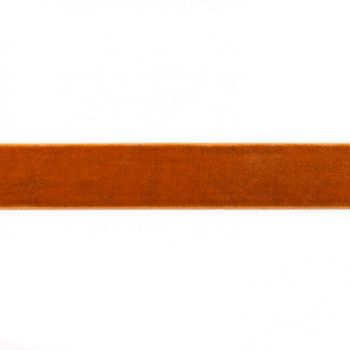Samtband gold Meterware Breite: 25mm 100% Polyester