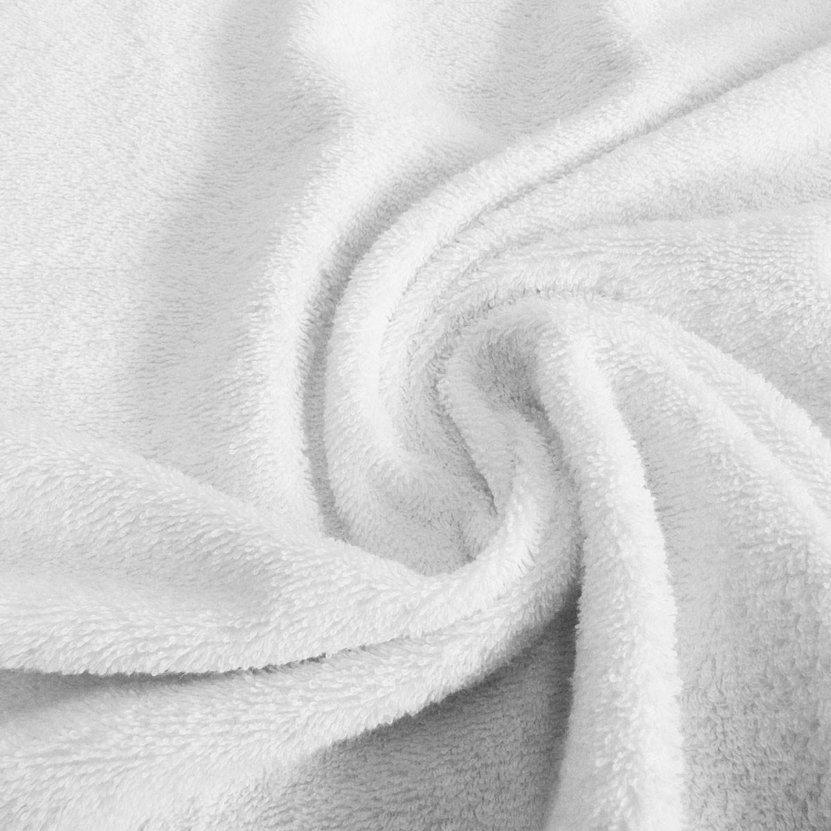 Frottee Handtuch Stoff Meterware weiß