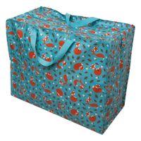 Tasche Jumbo Shopper Fuchs aus recycelten Material 58x47cm