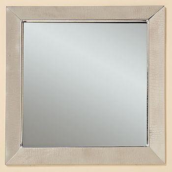 Spiegel Wandspiegel Lucin silber 41x41cm