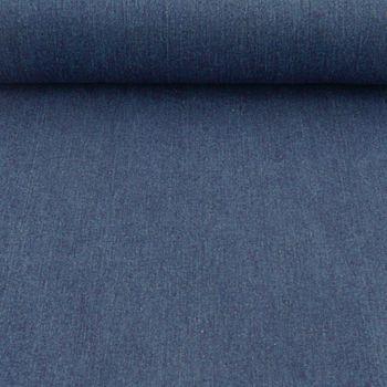 Jeansstoff Stoff Stretch Jeans dunkelblau 9OZ