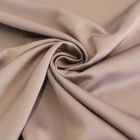 Royal Micro Satin Stoff Meterware taupe