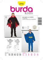 BurdaSchnittmuster2791Vampir & Bat-Boy 001