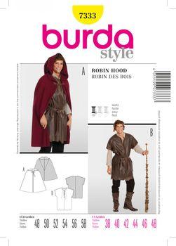 Burda Schnittmuster 7333 Robin Hood