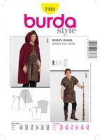 Burda Schnittmuster 7333 Robin Hood 001