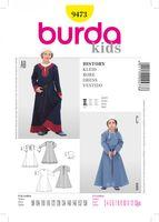 Burda Schnittmuster 9473 Kleid History 001