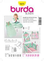 Burda Schnittmuster 9479 Babyausstattung 001