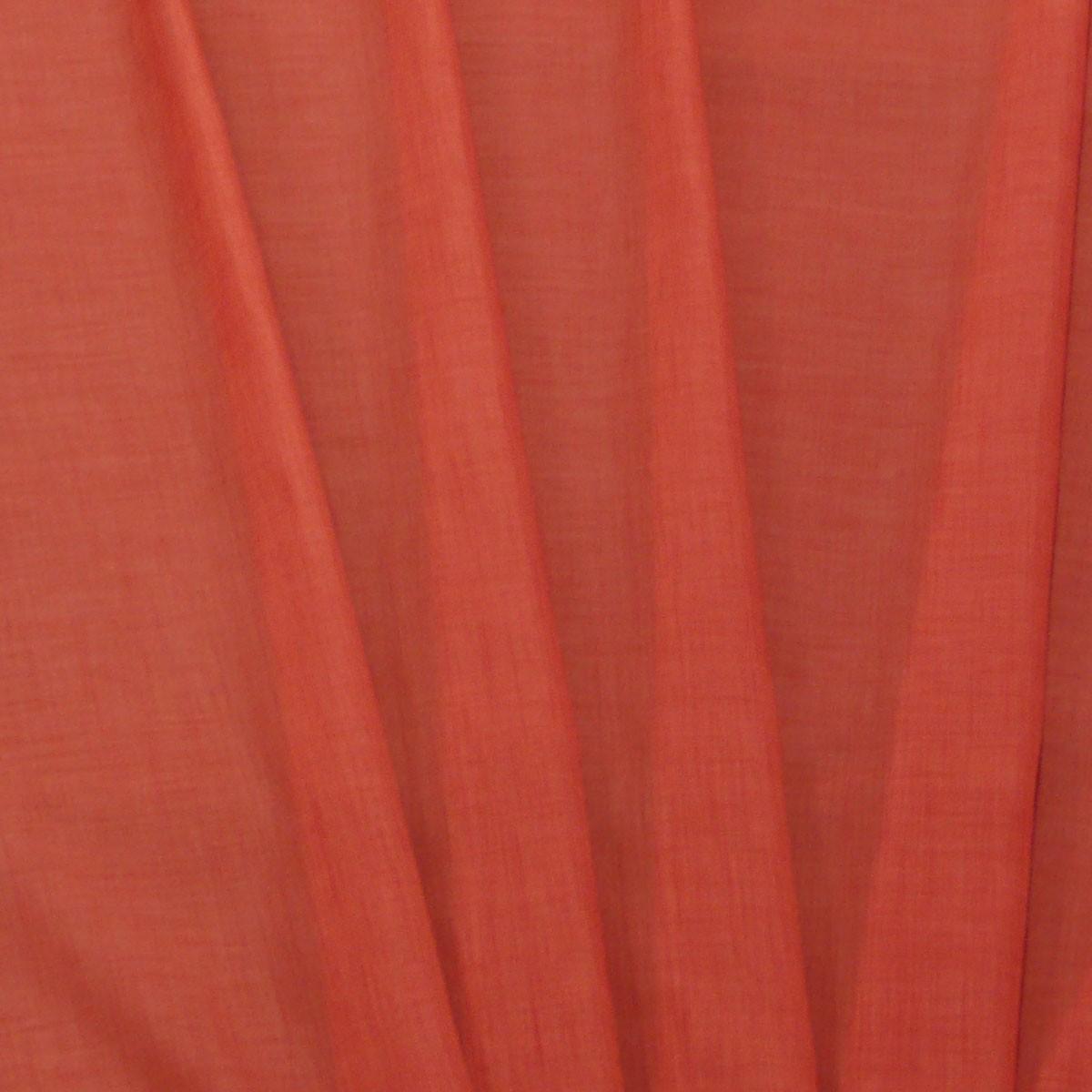 gardinen stoff meterware ambiente leinenoptik terrakotta 150cm breite alle stoffe wohnstoffe. Black Bedroom Furniture Sets. Home Design Ideas