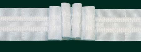 Gardinenband Faltenband 26mm weiß 3er Falte 1:2,5