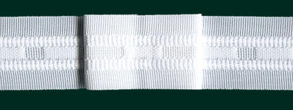 gardinenband faltenband flachfalte 26mm wei 1 2 gardinen gardinenb nder faltenb nder. Black Bedroom Furniture Sets. Home Design Ideas