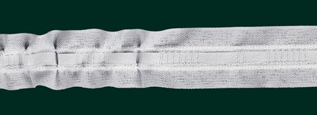 Gardinenband Universalband 25mm weiß