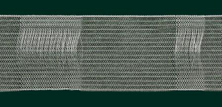 Gardinenband Schlaufen- und Vitragenband 50mm volltransparent